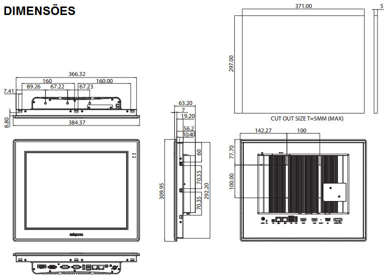 APPC1540T-COMPUTADOR-INDUSTRIAL-FANLESS-TELA-15-TOUCH-DIMENSAO