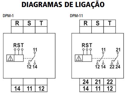 DPM-1-DPM-11-MONITOR-DE-TENSAO-DIAGRAMA-LIGACAO