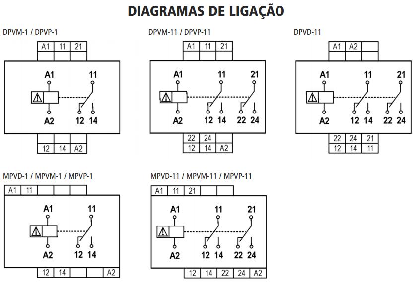 DPV-MPV-RELE-SUPERVISOR-MONOFASICO-DIAGRAMA-LIGACAO
