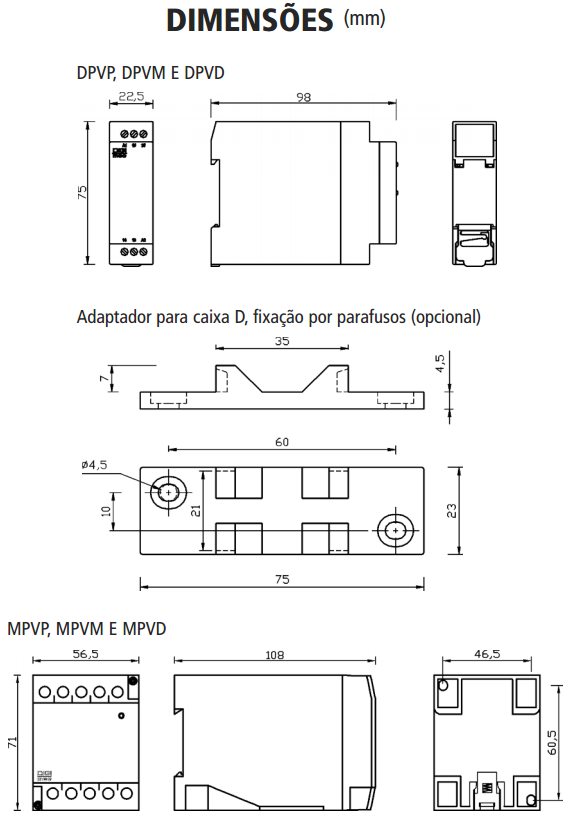 DPV-MPV-RELE-SUPERVISOR-MONOFASICO-DIMENSAO