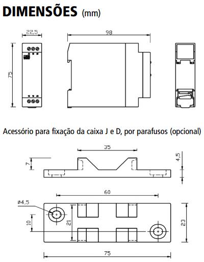 DPX-114-DPX-123-RELE-NIVEL-DIMENSAO