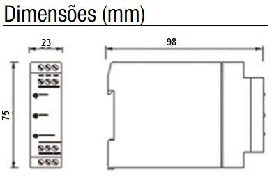 DPX-158-RELE-BIMANUAL-DIMENSAO