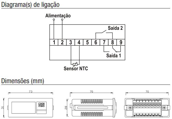 GM1202-TERMOSTATO-MICROPROCESSADO-DIAGRAMA-DIMENSAO