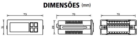 GM2203-TERMOSTATO-MICROPROCESSADO-DIMENSAO