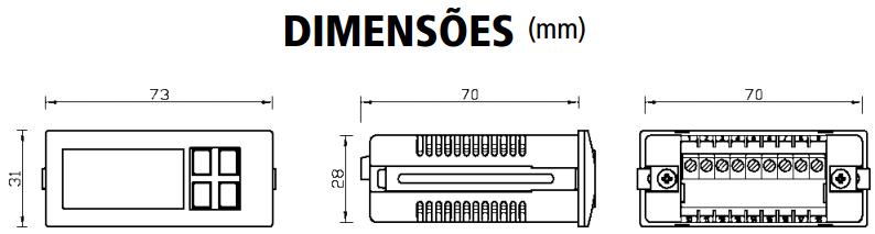 GM2300-TERMOSTATO-MICROPROCESSADO-DIMENSAO