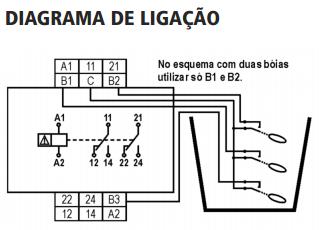 JPX-126-DPX-126-RELE-NIVEL-BOIA-DIAGRAMA-LIGACAO