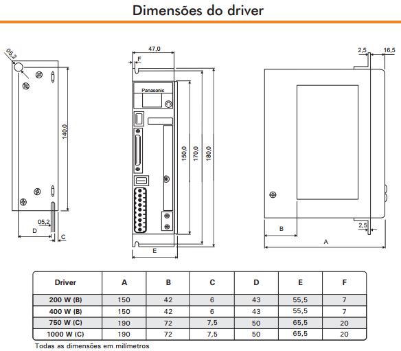 LIQI-SERVO-MOTOR-DRIVER-DIMENSAO