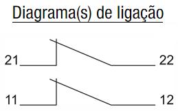 ZMRP-MICROIMTERRUPTORES-SEGURANCA-DIAGRAMA-LIGACAO